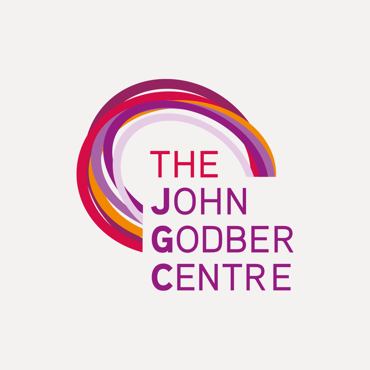 Identity for the John Godber Centre, JGC logo