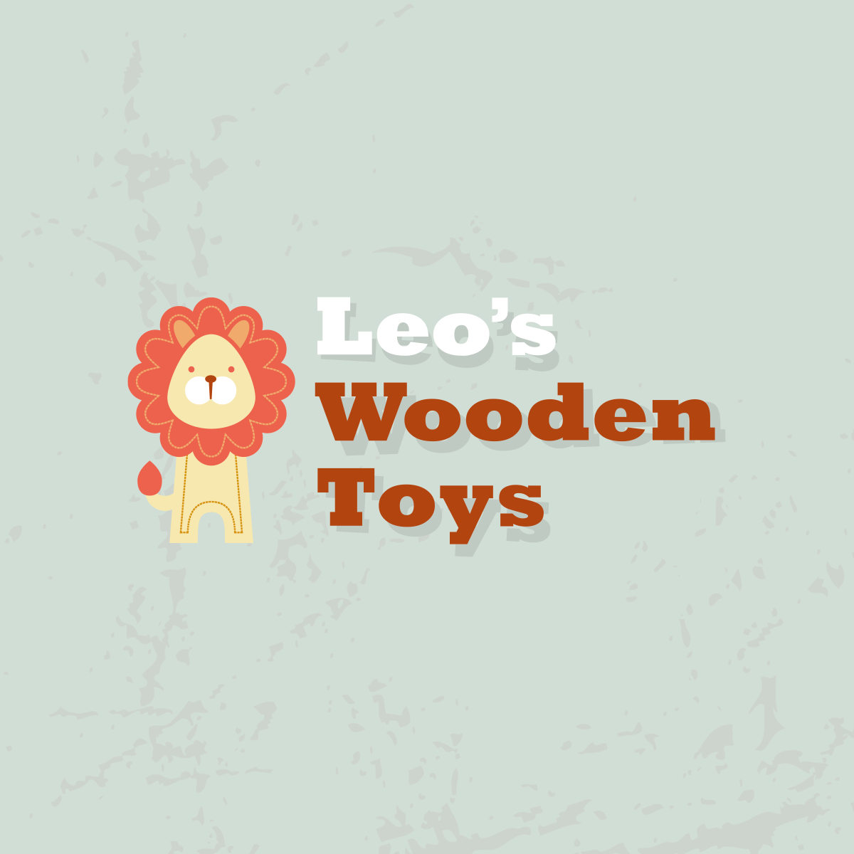 Identity for Leo's Wooden Toys, Leo's Wooden Toys logo