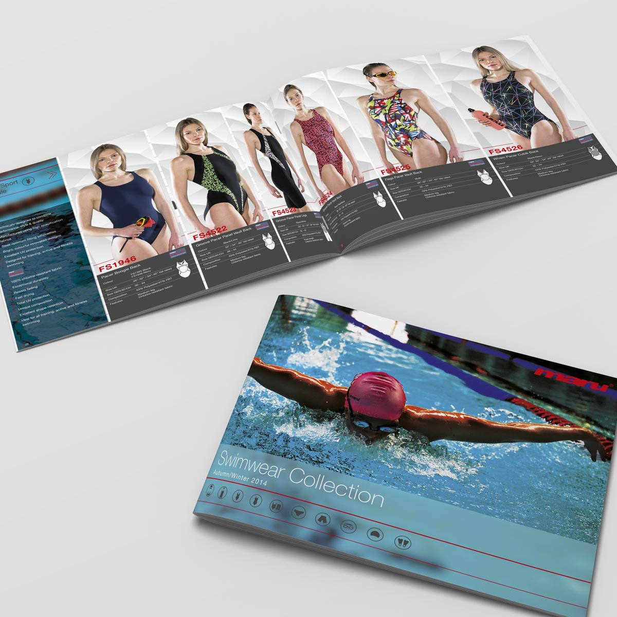 Maru Swimwear range collection catalogue