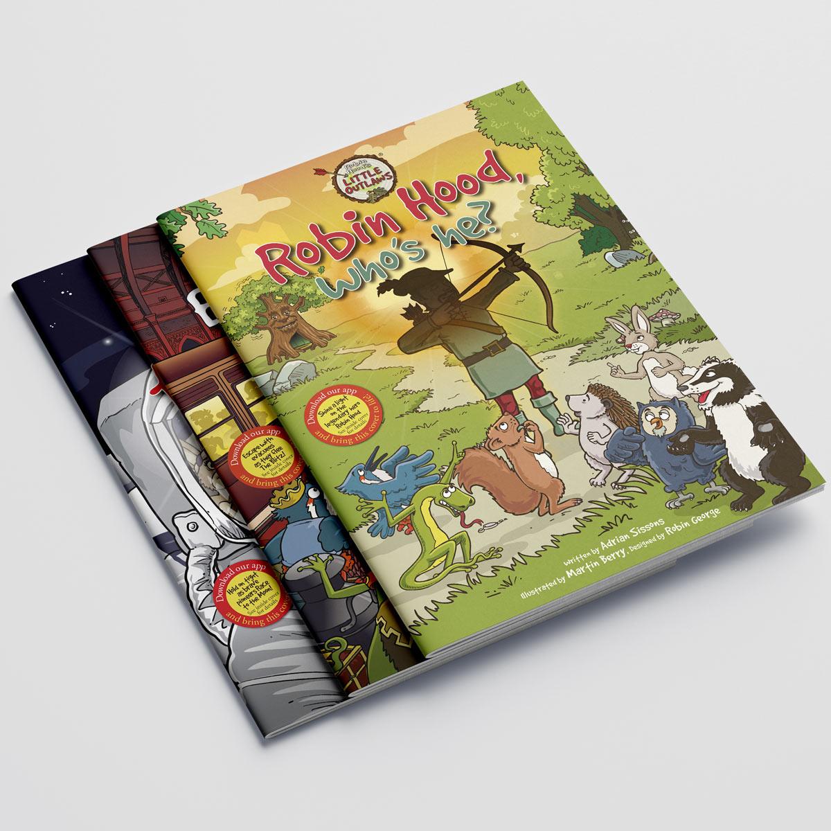 Robin Hood's Little Outlaws first three books