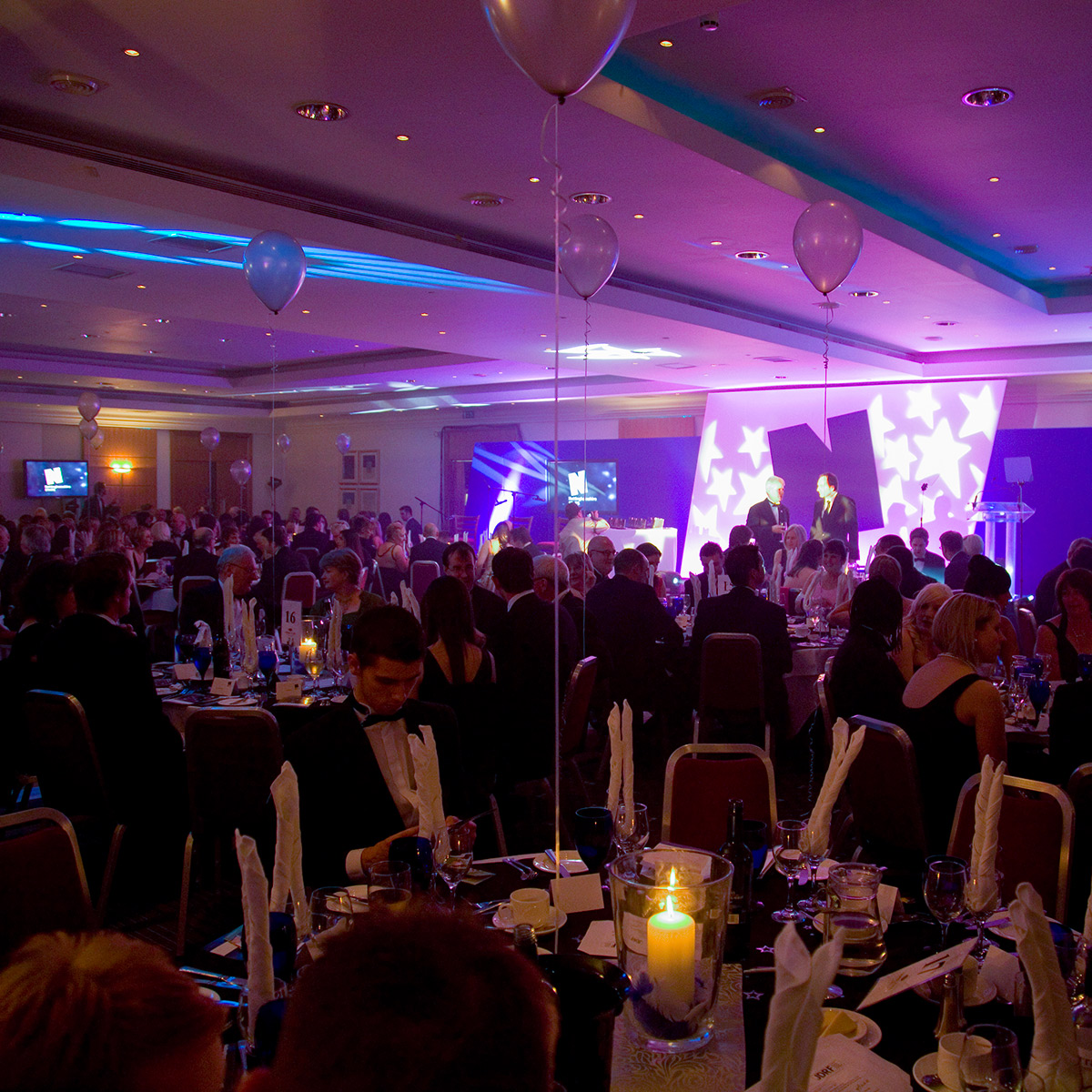Experience Nottinghamshire Stars Awards event