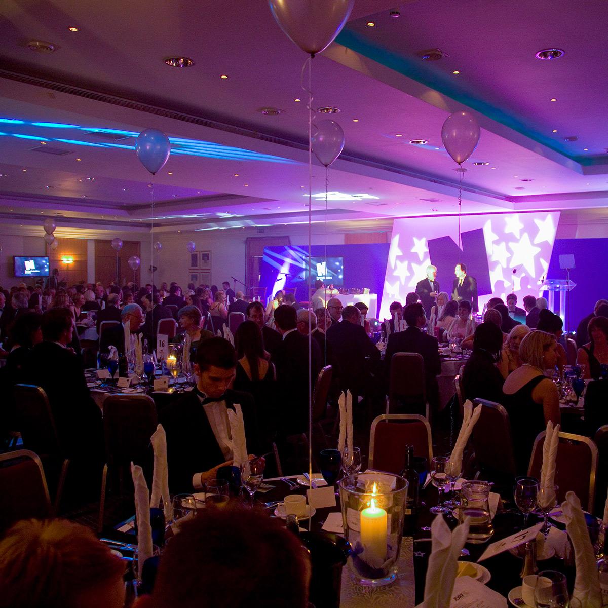 Experience Nottinghamshire Stars Awards event